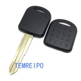 Keys Chip Shell Australia - Replacement car keys for suzuki transponder key shell chip key blank with uncut left blade