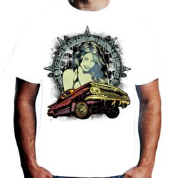 $enCountryForm.capitalKeyWord NZ - Velocitee Mens Latino Culture T Shirt Low Rider Fashion Girl Hispanic A19417 Cool Funny T-shirt Men High Quality Tees