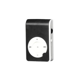 mini mp3 player screen UK - High Quality MP3 Player NC1888 Mini Clip Metal Usb Mp3 Player LCD Screen Support 32GB Micro SD TF Card Digital Music