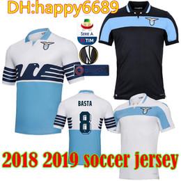 bed4bdb0c Best Black Jersey Football Canada - best quality 18 19 LAZIO soccer Jerseys  home away BERISHA