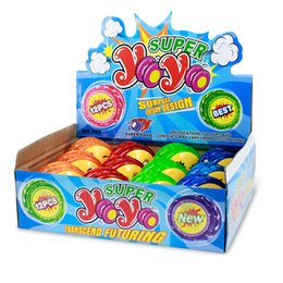$enCountryForm.capitalKeyWord Canada - Cartoon Emoji Smiley Yoyo LED glowing luminous toy Colorful smile face Yo-Yo kids toys gifts free shipping
