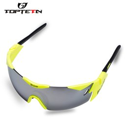 Professional sunglasses online shopping - Sale Professional Cycling Glasses Bike Goggles Outdoor Sports Bicycle Sunglasses Uv With Lens Tr90 Color
