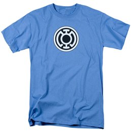 050c7558f40d41 Green Lantern Corps Blue Symbol DC Comics Licensed Adult T Shirt Funny free  shipping Unisex Casual tee gift