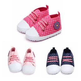 835da4b81 8 Fotos Compra On-line Bebê crianças sapato casual-Nova criança bebê meninas  primavera outono polka