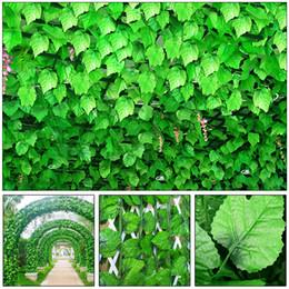 $enCountryForm.capitalKeyWord Canada - 12pcs 230 cm Artificial Ivy Leaf Garland Plants Plastic green long Vine Fake Foliage flower Home decor Wedding decoration