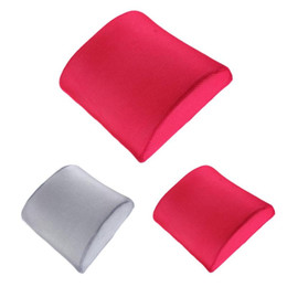 $enCountryForm.capitalKeyWord UK - Memory Foam Lumbar Back Ache Pain Cushion Support Cushion Pillow for Car Auto Seat Office Chair Orthopedic Seat