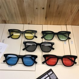 Gentle sunGlasses online shopping - Top Quality gentle V Brand Acetate night Glasses Korea fashion South oculos men sunglasses women sun glasses monster Come With Case occhiali