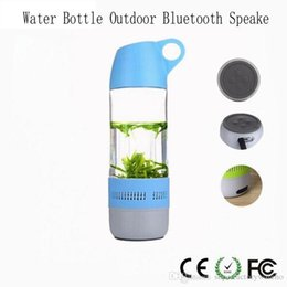 Subwoofer Player Australia - 1PCS New Water Bottle Outdoor Bluetooth Speaker Portable Cup Compass Wireless Speaker Subwoofer Hifi Stereo Music Player