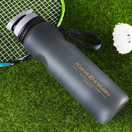 $enCountryForm.capitalKeyWord NZ - Logo customized 1000ml Plastic Sports Water Bottle Hight Capacity Leakproof Bottle Frosted Design Water bottle For Outdoor cycling sports