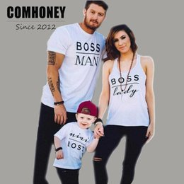 51c52ef6eaa6 Family Matching Outfits Summer Father Mother Baby Clothes Letter Print T-shirt  Baby Romper Bodysuits Beach Mom Daughter Son Tops