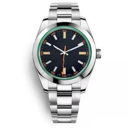 Stainless Steel Unisex Luxury Watches Australia - Montre de luxe Men Solid Steel strip Watches Mechanical Stainless Steel Luxury Men's Automatic Watch 40MM Orologio di lusso