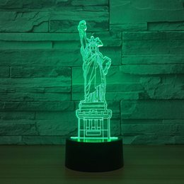 $enCountryForm.capitalKeyWord Canada - Status Of Liberty 3D Optical Illusion Lamp Night Light DC 5V USB Powered 5th Battery Wholesale Dropshipping Free Shipping