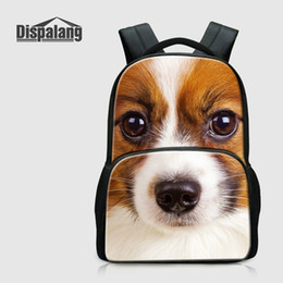 $enCountryForm.capitalKeyWord Australia - Cute Shaggydog School Backpacks For Children Animal Dog Printed Bookbags College Laptop Bagpacks Girls Rucksack Mochila Men Outdoor Knapsack