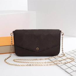 Os mais recentes Sacos de LUXO Moda MARCA das mulheres Designer de Bolsas de Ombro Tamanho 21/11/2 cm Modelo 61276
