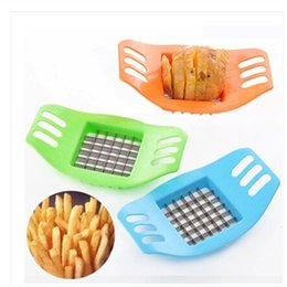 $enCountryForm.capitalKeyWord Australia - Free shipping by dhl Stainless Steel Potato Slicer Cutter Kitchen Potato Cutting Zesters french fry cutter Tool Accessories lin3931