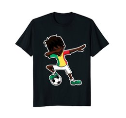 Hot Graphic Tees NZ - Hot Sale 2018 New Fashion Brand Crew Neck Soccerer Shirt for Boys, Dabbing, Senegal Flag Jersey, Gifts Tee Graphic T Shirts