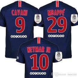 b1b263164 New patch 2018 2019 DANI ALVES MBAPPE NEYMAR JR soccer jerseys 18 19 CAVANI  football shirt VERRATTI Camiseta PASTORE DI MARIA maillot
