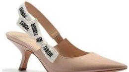 HOT High HeelsFlat Shoe Sandales pour femmes élégantes dames solide bouche peu profonde en cuir verni Net tissu pointu chaussures Bowtie Sandals