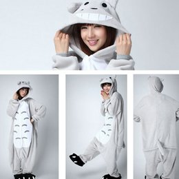 $enCountryForm.capitalKeyWord Canada - Hot Wholesale Unisex Hoodie Adult Totoro Pajama Sets Women Pajamas Cartoon Animal Unicorn frog Pajama Sets Sleepwear Flannel