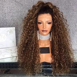 Full Lace Human Hair For Women Australia - Two Tone Ombre #1bT30 Human Hair Wig Full Lace Human Hair Wigs For Black Women Ombre Lace Front Human Hair Wigs