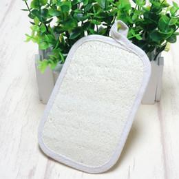 "$enCountryForm.capitalKeyWord Canada - Natural 3.9""x5.9"" Loofah Loofa Scrub Pad Spa Bath Body Brush Sauna Spa"