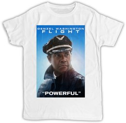 l style flights Canada - FLIGHT DENZEL WASHINGTON IDEAL GIFT BIRTHDAY PRESENT SHORT SLEEVE UNISEX T SHIRT Cool Short Sleeve Men T Shirt White Style