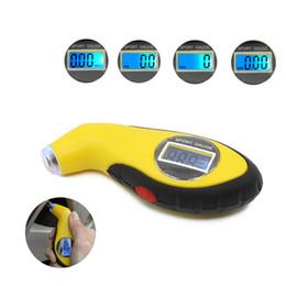 pressure gauge meter 2018 - Digital LCD Car Tire Tyre Air Pressure Gauge Meter Manometer Barometers Tester Tool For Auto Car Motorcycle cheap pressu