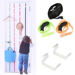 over door storage organizer NZ - Over Door Hanging Lanyard Hanger Hat Handbag Coat Tidy Storage Organizer Hook Cheap Price