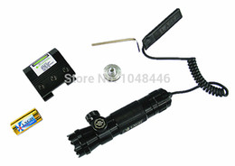 Green Scope NZ - Tactical Green Dot Laser sight rifle Gun scope Rail and Barrel Mounts Cap Pressure Switch For Hunting