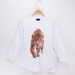 0a648661f52d 2018 Fashion Nova Children T-shirt Beast Of Prey Leopard Panther 3D Print  Cotton Full Long Boys T Shirts Girl Tops Clothing Free Shipping