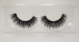 hand pack NZ - 3D Mink False Eyelashes 100% Mink Fur Long Thick Hand-made Reusable Eyelashes Natural 1 Pair Pack MTL004