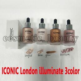 $enCountryForm.capitalKeyWord NZ - New Iconic London illuminator Liquid Highlighter In Shine original shine glow three color face make up highlighter 3 color