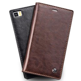 China Good quality flip leather case for Xiaomi 3,business style card holder leather cover for mi3 suppliers