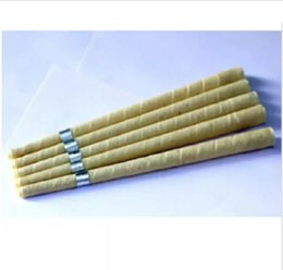 Hot disc online shopping - New hot sale pure beewax ear candle unbleached organic muslin fabric with protective disc CE quality approval