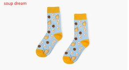 Heat Socks Canada - Soup Dream New Fashion Men Raging Fire Flames Unisex Crew Socks Couples Lovers Heat Wave Hip Hop Cool Cotton Socks5 Double Pack