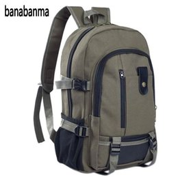 $enCountryForm.capitalKeyWord NZ - banabanma Men's Multi Pockets Canvas Backpack Casual Travelling Bag High-capacity Satchel Schoolbag ZK30