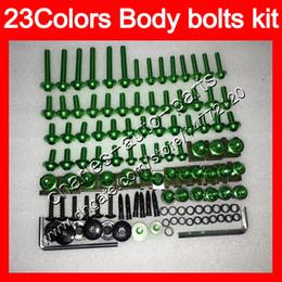 Chinese  Fairing bolts full screw kit For KAWASAKI NINJA 650R ER-6F 09 10 11 ER 6F 09-11 ER6F 2009 2010 2011 Body Nuts screws nut bolt kit 23Colors manufacturers