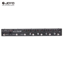$enCountryForm.capitalKeyWord UK - Joyo PXL-PRO Programable Pedal Controller Switching Grouping System 32 Effects Sets Loop Channel