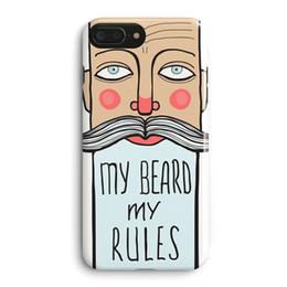 $enCountryForm.capitalKeyWord UK - Korean Fun Creative Beard English Letter Pattern Phone Case Back Cover For Apple iPhone 6 6S 7 8 Plus X All Inclusive