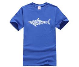 Diy Tees NZ - DIY print t shirt Shark Scuba Diver T-shirt Tee Divinger Dive Funny Birthday Gift Present for Him Men Adult T Shirt
