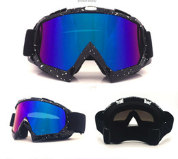 windproof motorcycle helmets Australia - Motocross Helmet Goggles ATV MTB Dirt bike Eyewear Goggle Motorcycle Enduro Off-Road Windproof skiing Skating Glasses