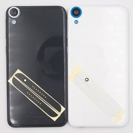 iphone front yellow Canada - wholesale New Battery Door Back Cover Front Top Cover Bottom Cover Housing Case For HTC Desire 820 D820U T S With Side Buttons