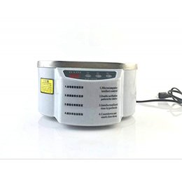 $enCountryForm.capitalKeyWord NZ - Stainless Steel Ultrasonic Cleaner Digital Ultrasound Wave Washing Unit for Jewelry Glasses with Steel Lid High Quality 600ML Exquisite