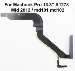 "Macbook Hdd Australia - HDD Hard Disk Drive Flex Cable 821-1480-A for MacBook for Mac Pro 13"" A1278 MD101 MD102 2012 2013 923-0741 923-0104"