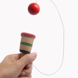 Ball for game online shopping - Wooden Sports Kendama Toys Exercise Hand Eye Coordination Puzzle Game Challenging Skill Ball Suitable For Adult Children yb W