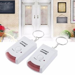 Motion Detector Security Systems Australia - IR Infrared sensor Security Detector Home System 2 Remote Control Wireless IR Infrared Motion Sensor Alarm Security Detector New