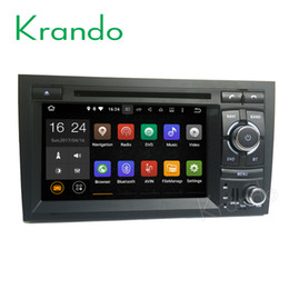 Gps For Audi NZ - Krando Android 7.1 car dvd radio for audi a4 s4 rs4 2002-2008 gps navigation dvd player multimedia WIFI 3G Bluetooth Playstore DAB+