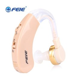 Discount invisible hearing aids - Hot Selling Hearing Aid Portable Small behind The Ear near Invisible Best Sound Amplifier Adjustable Tone Hearing Aids E