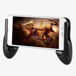 Discount hand controller - Phone Game Mount Bracket Gamepad Hand Grip Clip Stand For iphone X 8 7 6 Samsung S8 Plus S7 Xiaomi Huawei Gaming Handle