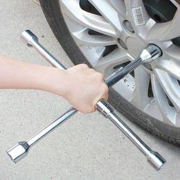 "car lug nuts 2019 - 4 Way Cross Wrench Lug Nut 7"" 14"" 16"" 18"" 20"" Heavy Duty Steel Universal Car Tire Repair Tool c"